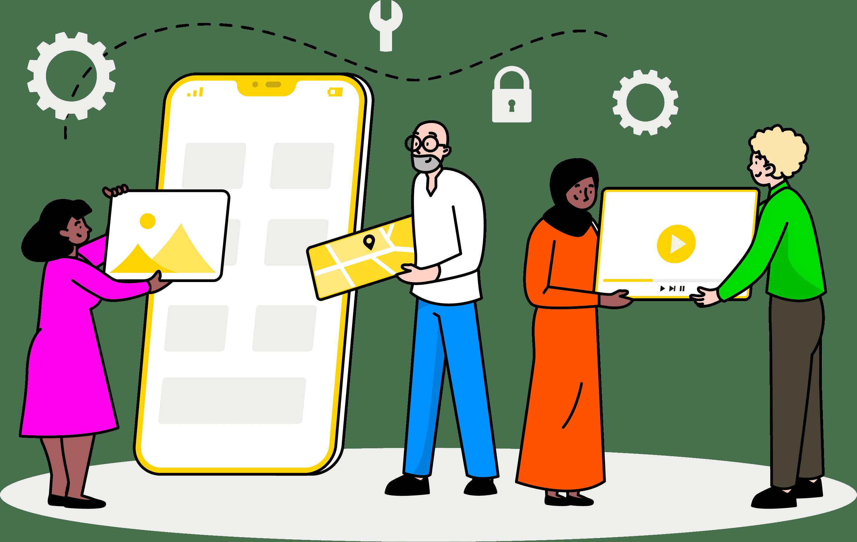 Mobile Application Development Image